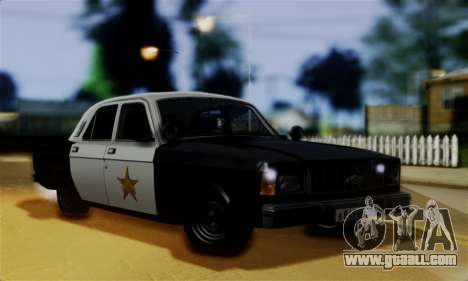 GAZ 3102 Volga - Sheriff for GTA San Andreas