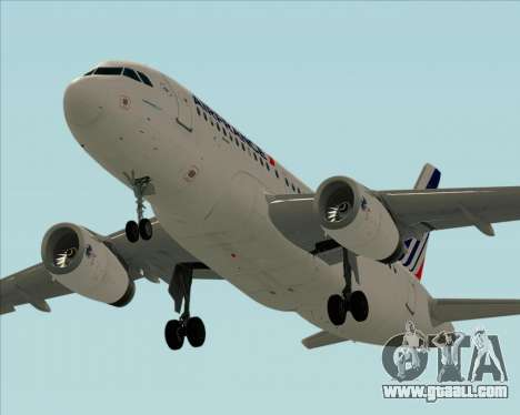 Airbus A319-100 Air France for GTA San Andreas interior