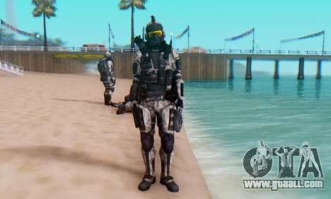 C.E.L.L. Soldier (Crysis 2) for GTA San Andreas fifth screenshot