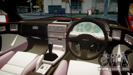 Mazda RX-7 1990 FC3s [EPM] for GTA 4 inner view