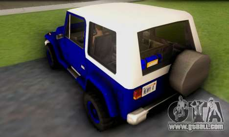 Messa Off-Road Styling pack v1 for GTA San Andreas back left view