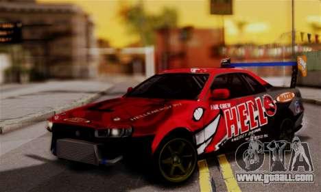 Nissan Skyline R34 HELL DT for GTA San Andreas