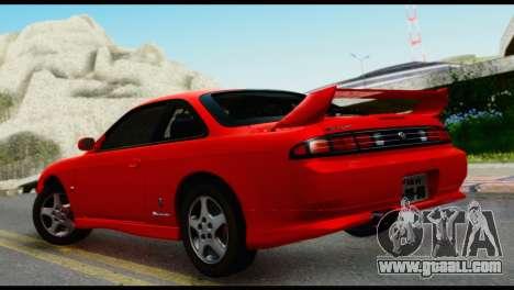 Nissan Silvia S14 Ks for GTA San Andreas left view