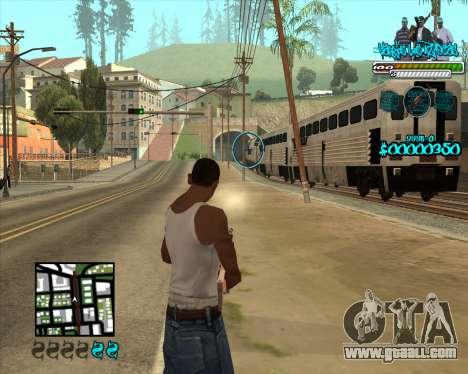 C-HUD for Aztecas for GTA San Andreas third screenshot