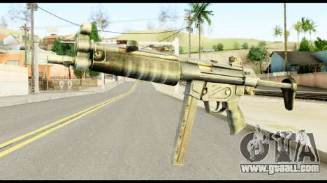MP5 with Decomposed Butt for GTA San Andreas