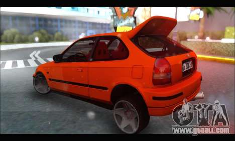 Honda Civic HB (JDM Family) for GTA San Andreas right view