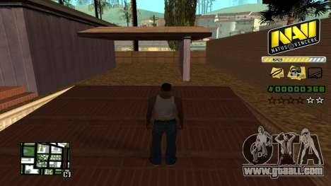 C-HUD NAVI for GTA San Andreas second screenshot