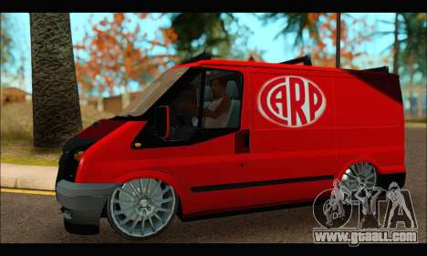 Ford Transit River for GTA San Andreas left view