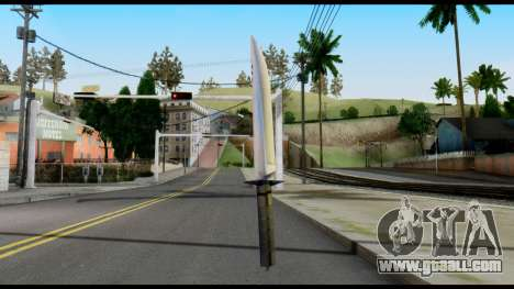 Vamp Knife from Metal Gear Solid for GTA San Andreas second screenshot