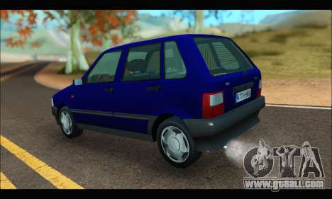 Zastava Yugo Uno for GTA San Andreas left view