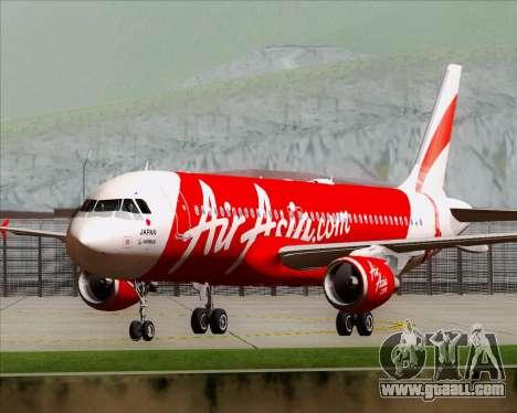 Airbus A320-200 Air Asia Japan for GTA San Andreas