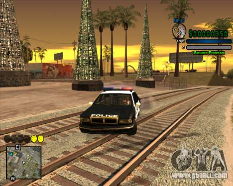 C-HUD Excellent for GTA San Andreas