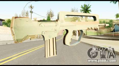 Famas from Metal Gear Solid for GTA San Andreas second screenshot