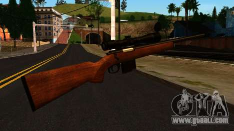 Rifle from GTA 4 for GTA San Andreas second screenshot