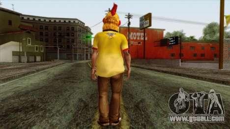GTA 4 Skin 86 for GTA San Andreas second screenshot