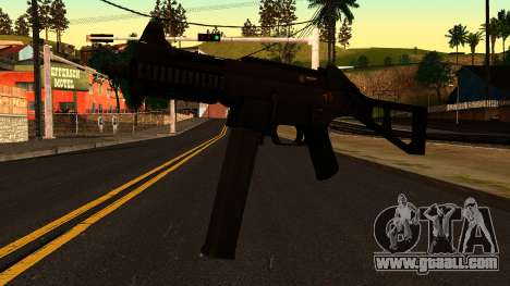 UMP45 from Battlefield 4 v1 for GTA San Andreas