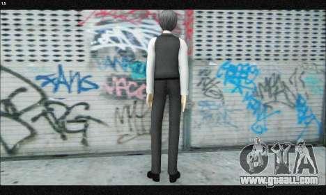 Kaneki Ken (Tokyo Ghoul) for GTA San Andreas third screenshot