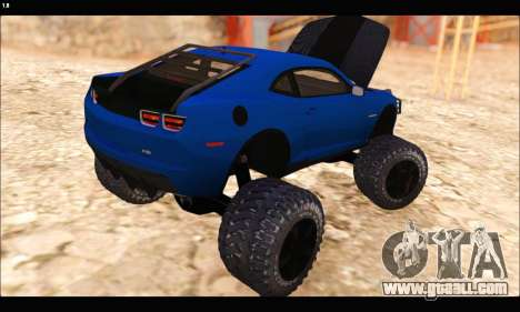 Chevrolet Camaro SUV Concept for GTA San Andreas side view