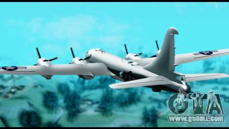 B-29 Superfortress for GTA San Andreas left view