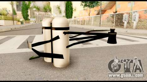 Fury Jetpack from Metal Gear Solid for GTA San Andreas second screenshot