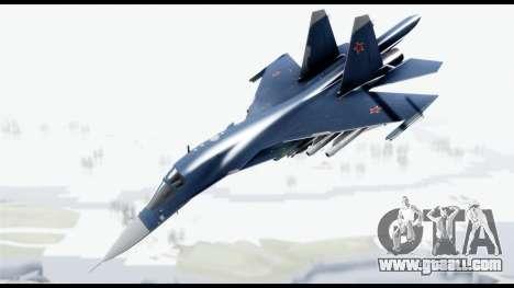 SU-34 Fullback PJ for GTA San Andreas