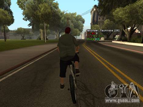 3D HUD CLEO for GTA San Andreas