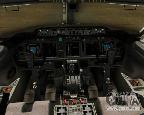 Boeing 737-800 Air Philippines for GTA San Andreas interior