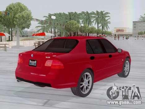 Saab 95 for GTA San Andreas back view