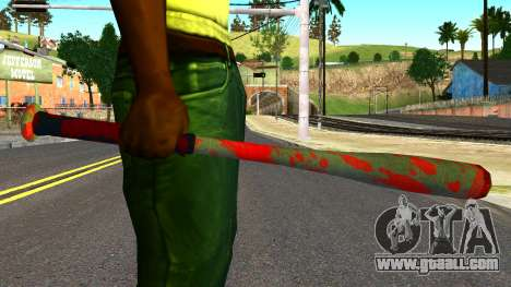 Baseball Bat with Blood for GTA San Andreas third screenshot