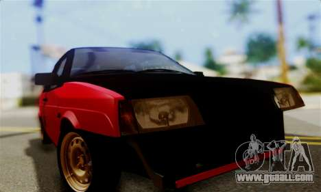 VAZ 2108 Hobo for GTA San Andreas back view