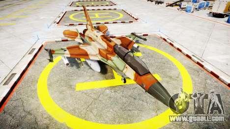 Lockheed F-16I Sufa Storm for GTA 4