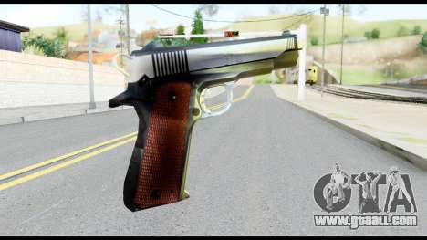 Colt 1911A1 from Metal Gear Solid for GTA San Andreas second screenshot
