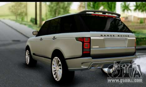 Range Rover IV 3.0 AT for GTA San Andreas left view