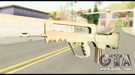Famas from Metal Gear Solid for GTA San Andreas