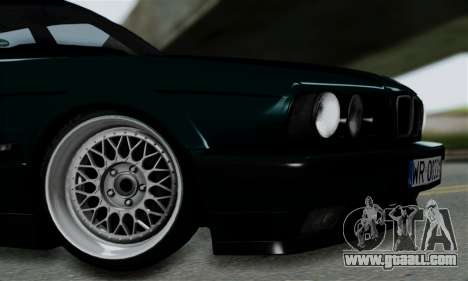 BMW 525 E34 Rims for GTA San Andreas