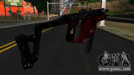 Christmas MP5 for GTA San Andreas second screenshot