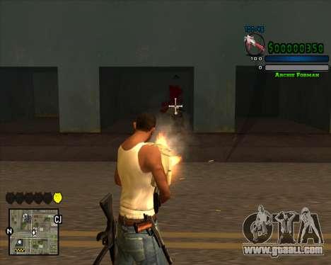 C-HUD Excellent for GTA San Andreas second screenshot