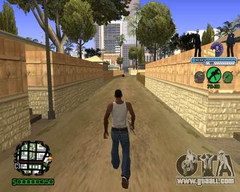 C-HUD FBI for GTA San Andreas