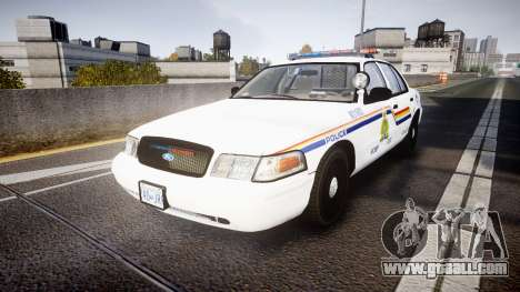 Ford Crown Victoria Canada Police [ELS] for GTA 4
