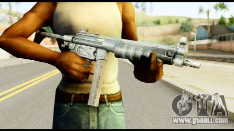 MP5 with Decomposed Butt for GTA San Andreas third screenshot