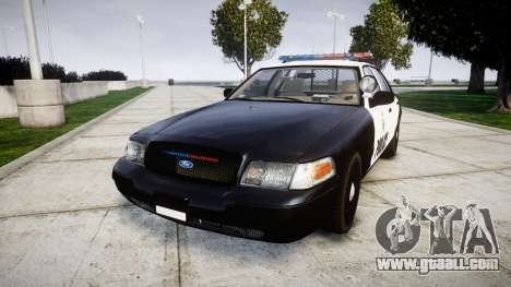 Ford Crown Victoria Ontario Police [ELS] for GTA 4