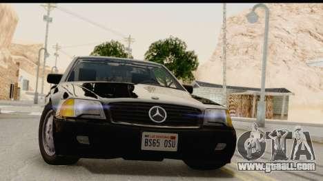 Mercedes-Benz 500SL R129 1992 for GTA San Andreas