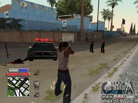 C-HUD Unique v4.1 for GTA San Andreas forth screenshot