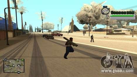 C-HUD v5.0 for GTA San Andreas forth screenshot