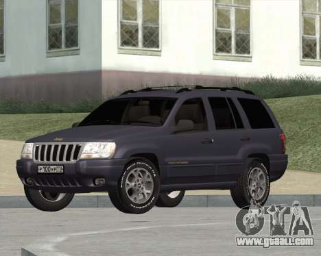 Jeep Grand Cherokee WJ for GTA San Andreas
