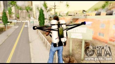 Fury Jetpack from Metal Gear Solid for GTA San Andreas third screenshot