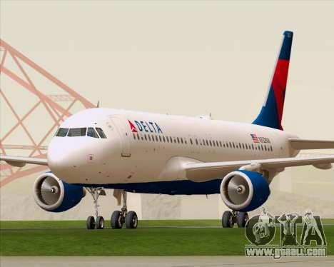 Airbus  A320-200 Delta Airlines for GTA San Andreas