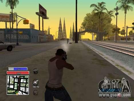 C-HUD Unique v4.1 for GTA San Andreas