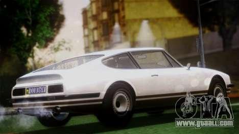 GTA 5 Lampadati Pigalle (IVF) for GTA San Andreas back left view