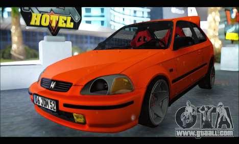 Honda Civic HB (JDM Family) for GTA San Andreas